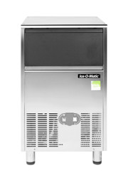 ICEU66 Self Contained Gourmet Ice Maker (front view) With Pump Out Drain