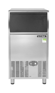 ICEU126PD Self Contained Gourmet Ice Maker (front view) With Pump Out Drain