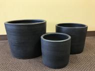 Mid Century Modern Glazed Ceramic Cylinders