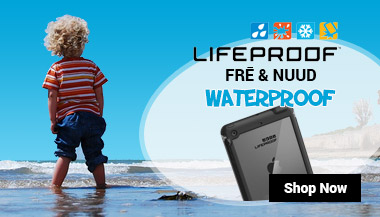 LifeProof Nuud and Fre for iPad
