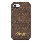 OtterBox Symmetry Leather Case iPhone 7 - Dark Brown/Dark Snake Skin
