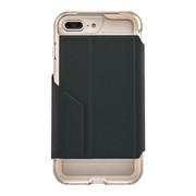 EFM Monaco D3O® Wallet Case iPhone 7+ Plus - Crystal/Gold