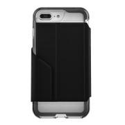 EFM Monaco D3O® Wallet Case iPhone 7+ Plus - Crystal/Silver