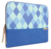 """STM Grace 13"""" Laptop Sleeve - Blue Diamonds"""