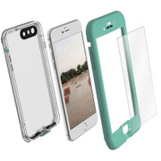 LifeProof NUUD Case with Alpha Glass iPhone 7+ Plus - Teal/Clear