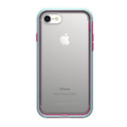 LifeProof SLAM Case iPhone 8/7 - Clear/Blue/Magenta