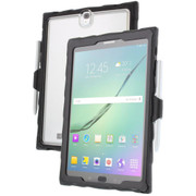 Gumdrop Drop Tech Clear Case Samsung Galaxy Tab S3 - Black/Smoke