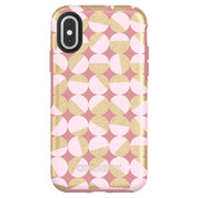 OtterBox Symmetry Case iPhone X - Pale Beige/Blush