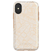 OtterBox Symmetry Case iPhone X - White/Roasted Tan