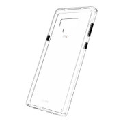 EFM Aspen Clear D3O Case Armour Samsung Galaxy Note 9 - Clear/White/Black