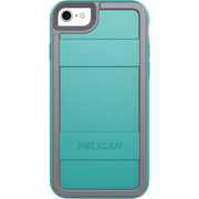 Pelican PROTECTOR Case iPhone 8/7/6/6S - Aqua/Grey