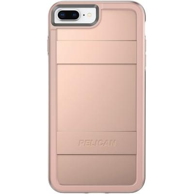 low priced 8b526 34d5c Pelican PROTECTOR Case iPhone 8+/7+/6+/6S+ Plus - Metallic Rose Gold/Rose  Gold