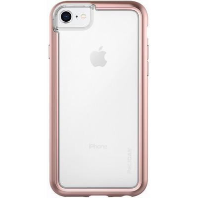 timeless design f75e3 c0ed3 Pelican ADVENTURER Case iPhone 8/7/6/6S - Clear/Metallic Rose Gold