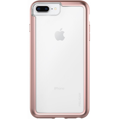 online retailer 742ff 14589 Pelican ADVENTURER Case iPhone 8+/7+/6+/6S+ Plus - Clear/Metallic Rose Gold