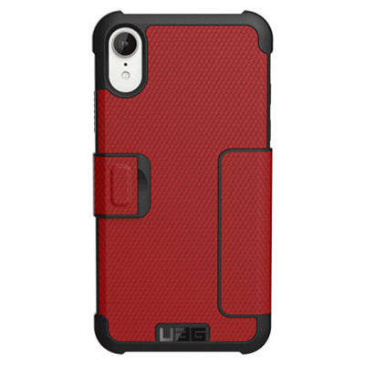 UAG Metropolis Folio Case iPhone XR - Magma