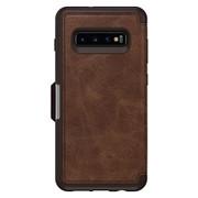 OtterBox Strada Folio Case Samsung Galaxy S10+ Plus - Espresso