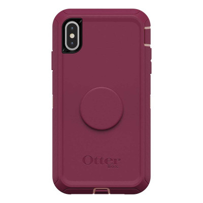 OtterBox Otter + Pop Defender Case iPhone Xs Max - Fall Blossom