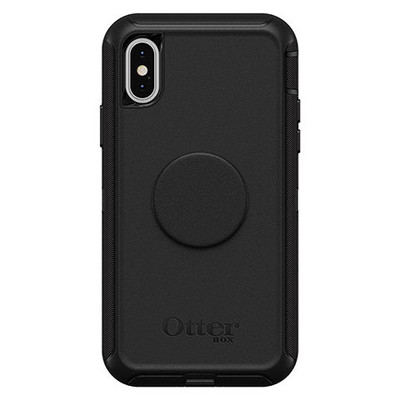 OtterBox Otter + Pop Defender Case iPhone X/Xs - Black