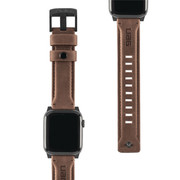 "UAG Apple Watch 44""/42"" Leather Strap - Brown"
