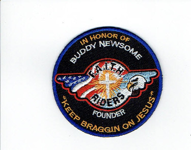 "In Honor of Buddy Newsome patch (3"" embroidered)"
