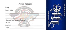 Front of Prayer Request Card