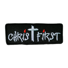 Christ First Patch