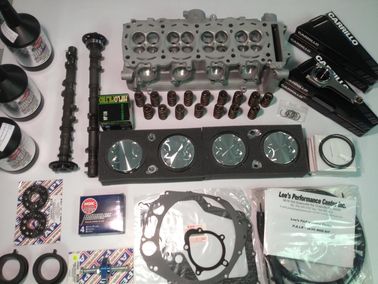 2008-18 Hayabusa Stage 4 PLUS (1470) Engine Build 235-245HP