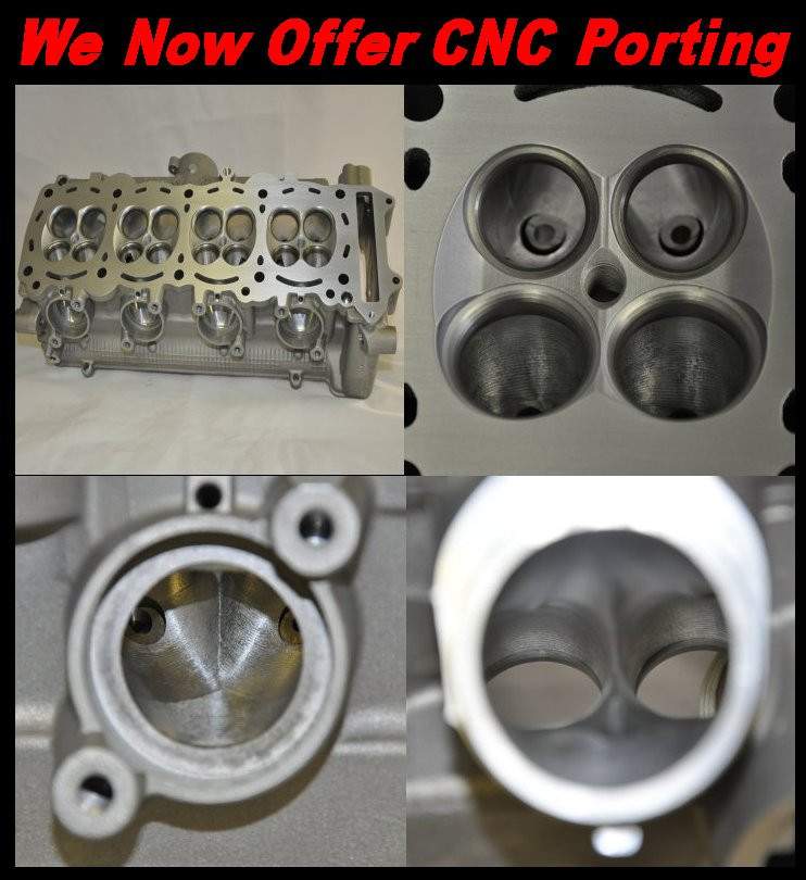 CNC Port and Polish Cylinder Head