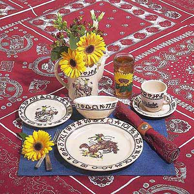 Rodeo Place Setting 5 piece
