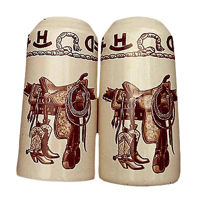 Boots & Saddle Salt and Pepper Set
