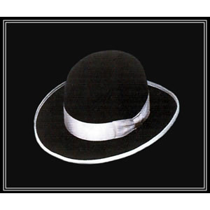 Black Derby Custom Cowboy Hat