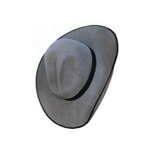 Gus Custom Cowboy Hat Black Edge
