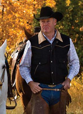 Wyoming Traders Vest Nevada Wool Men's