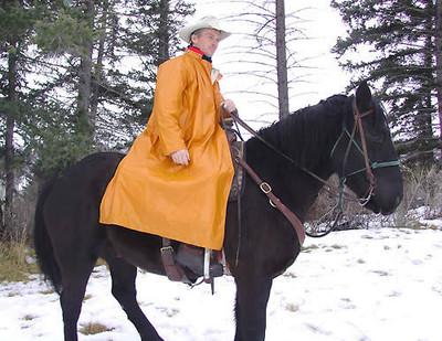 Wyoming Traders Slicker Pommel Men's