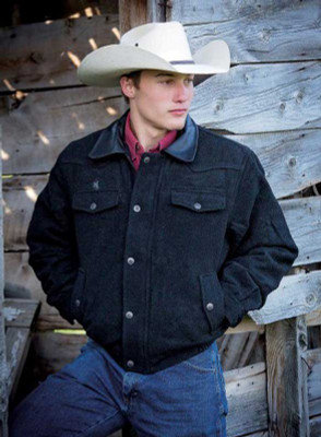 Wyoming Traders Jacket Wool Bomber Men's