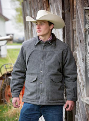Wyoming Traders Coat Wool Ranch Men's