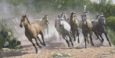 Los Caballos by Ragan Gennusa