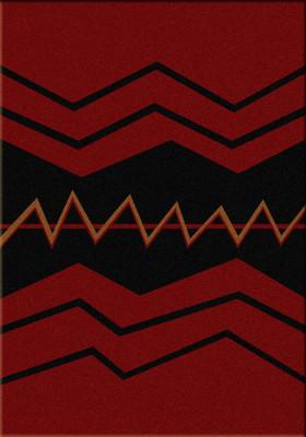 War Path - Red - 5'x8'