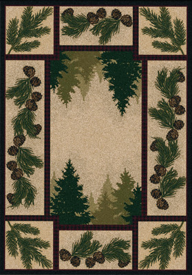 Pine Forest - Maize - 5'x8'