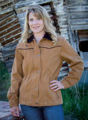 Wyoming Traders  Shoshone Canvas Women's Jacket