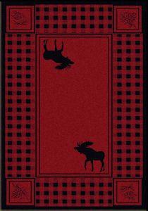 American Dakota's Cabin Collection Moose Refuge