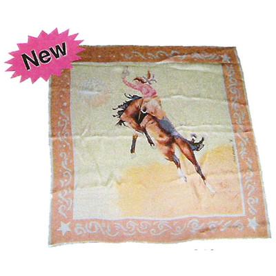 Wild Rag Silk Scarf Limited Edition Teal Blake Tan
