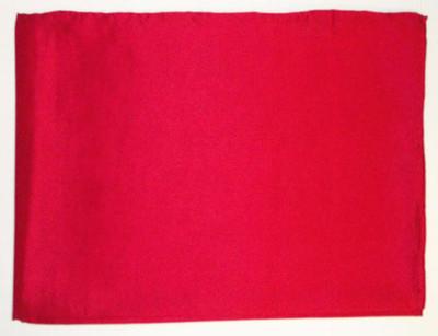 Wild Rag Silk Scarf 42 Inch Solid Red
