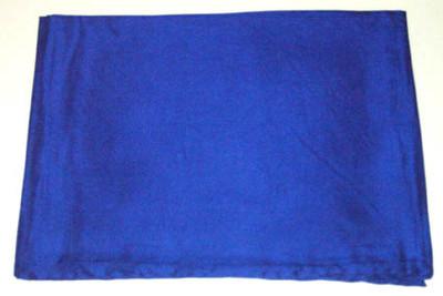 Wild Rag Silk Scarf 42 Inch Solid Royal