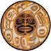 Rande Moon Mask Natural 8' Round