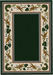 Three Sisters Rug - Emerald (Various sizes)