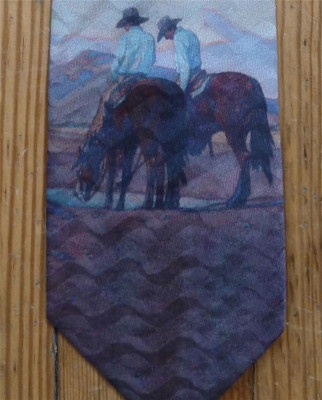 Waterhole Silk Tie