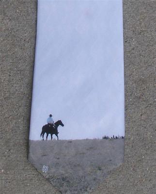 Big Horn Rider Silk Tie
