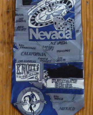 Blue West Coast Silk Tie