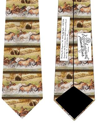 Shooting The Cheyenne Silk Tie